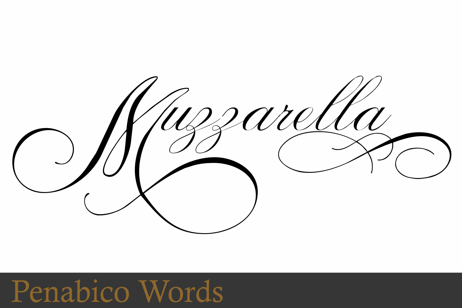 Penabico Words  example image 7