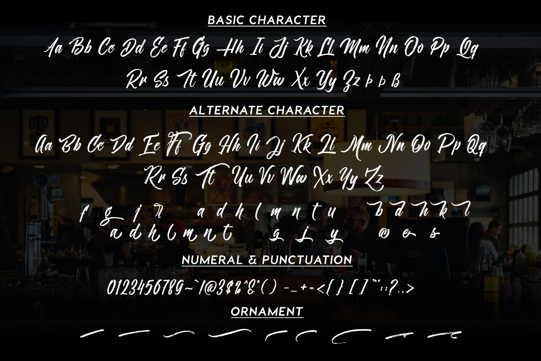 Novitha Script example image 5
