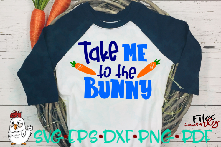 Take me to the Bunny SVG example image 2