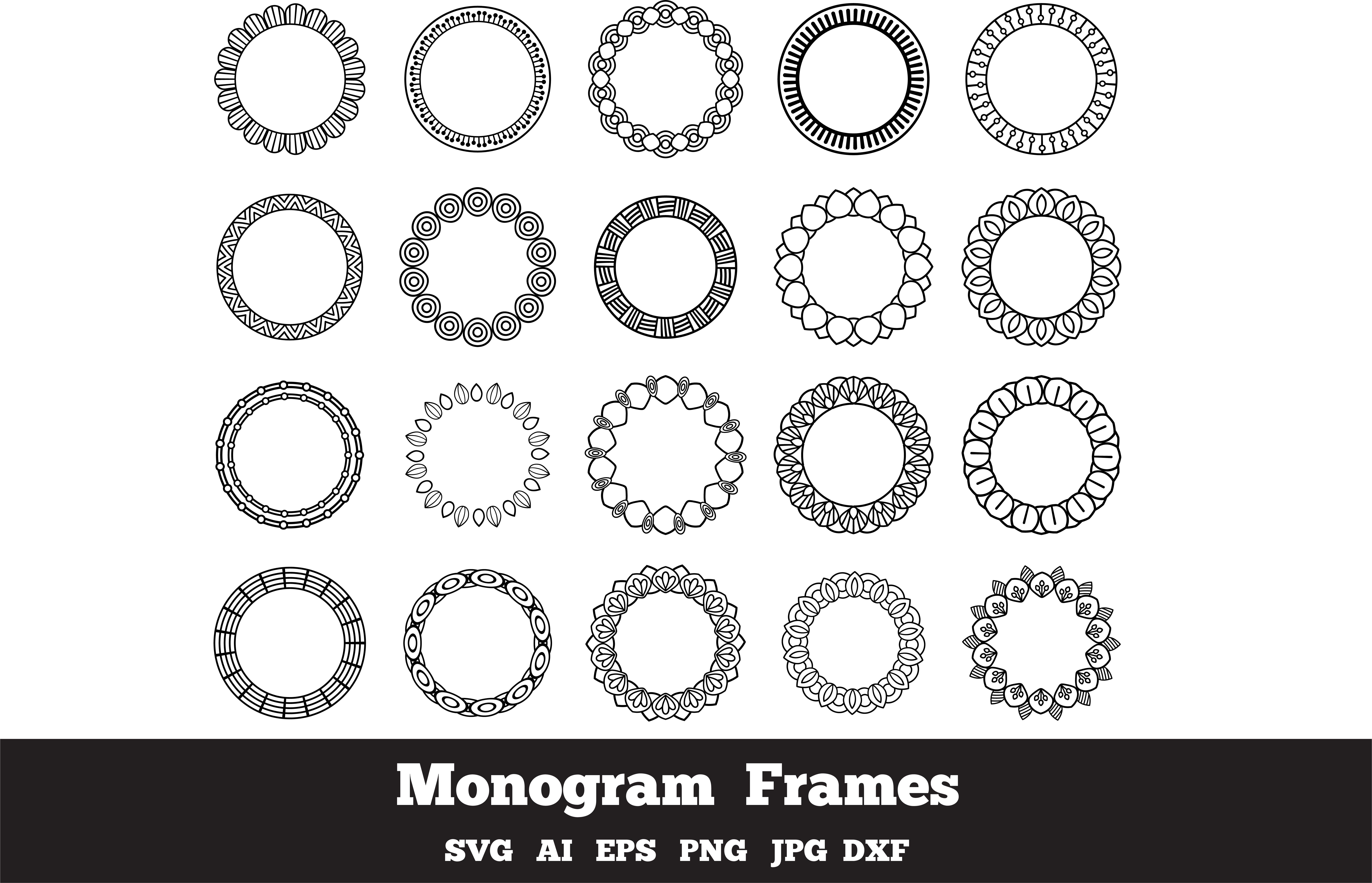 Monogram Frames  example image 1