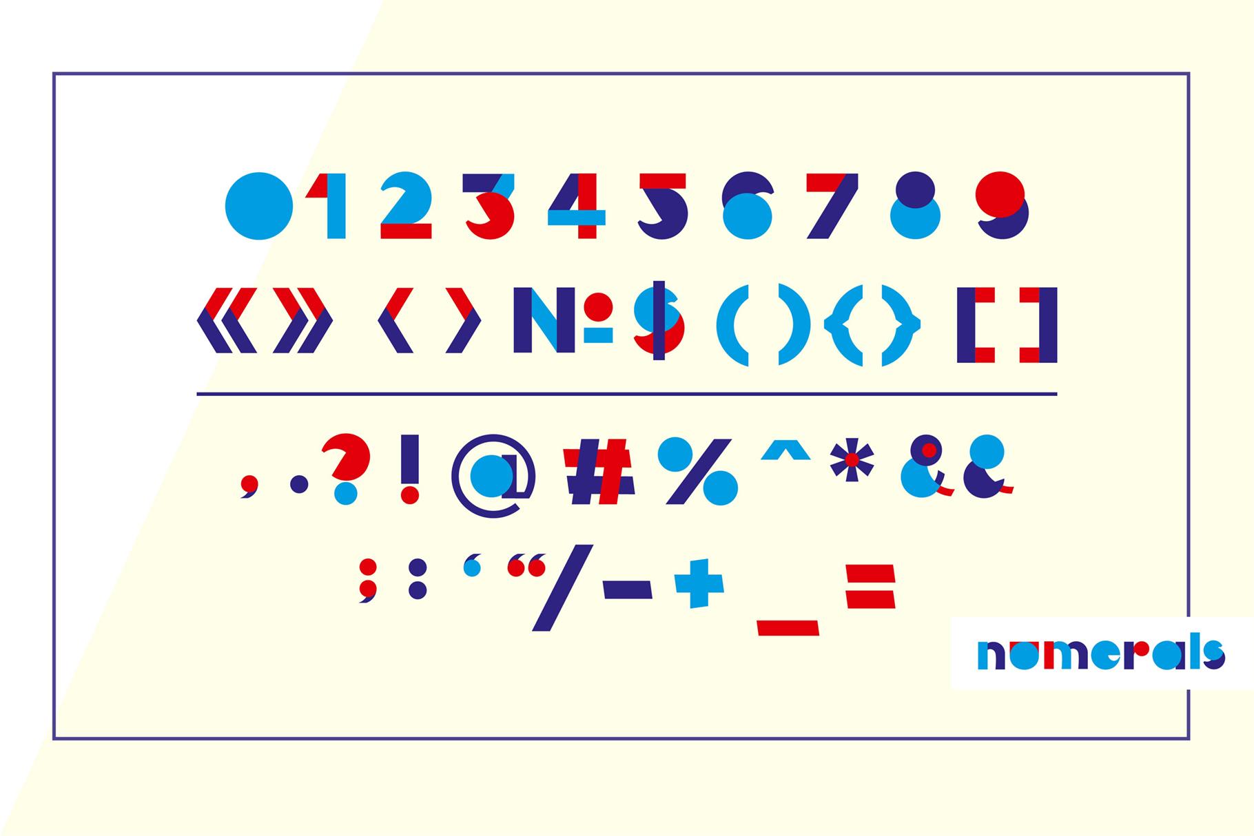 LOVE-BIRDS multicolor font example image 3