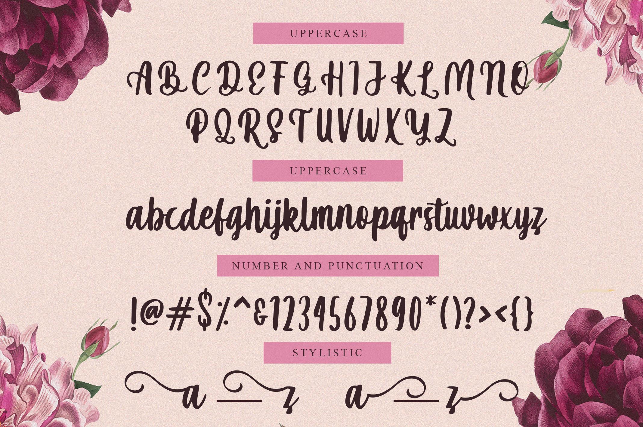 Mahira | Sweet Script Font example image 2