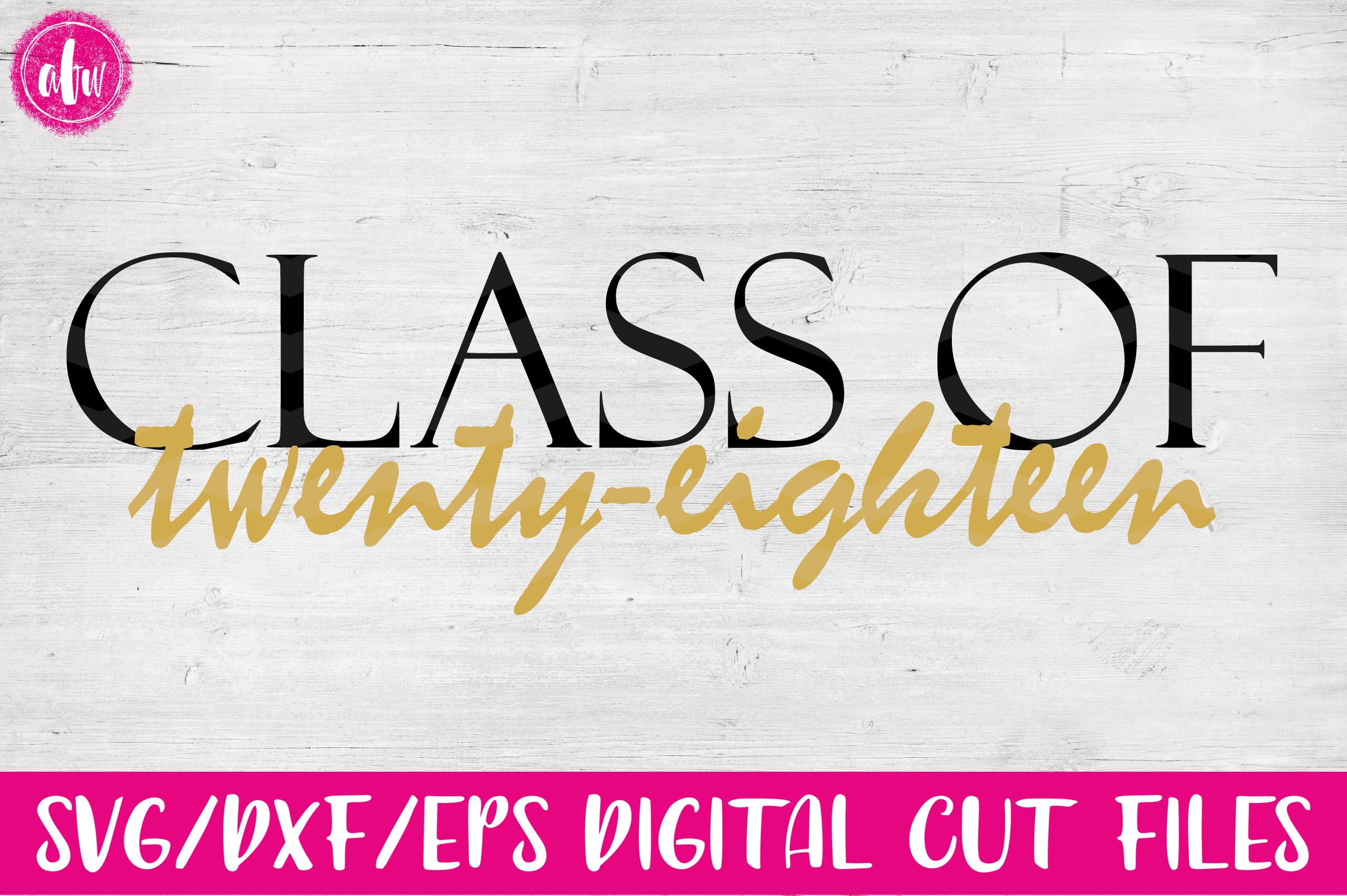 Graduation 2018 Bundle - SVG, DXF, EPS Cut Files example image 6