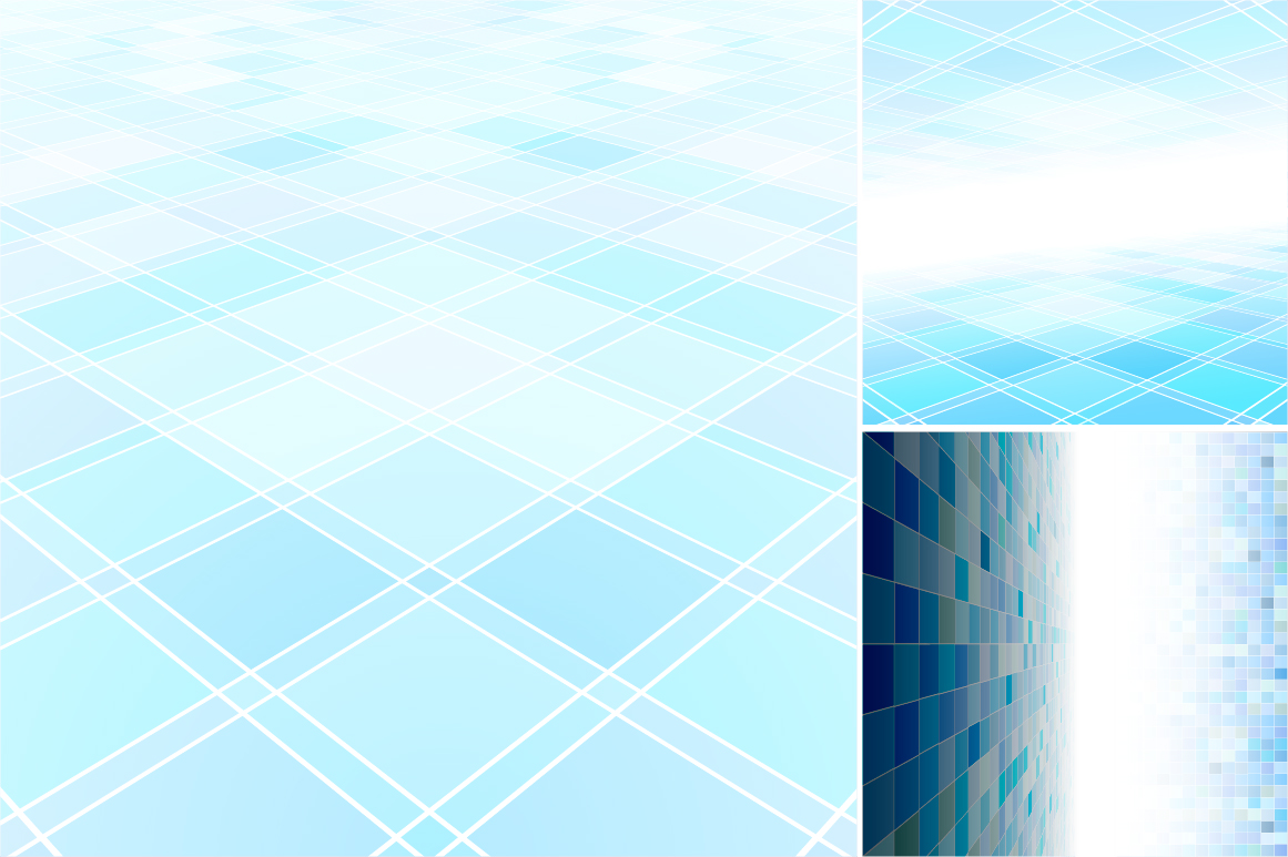 Blue abstract backgrounds. example image 6