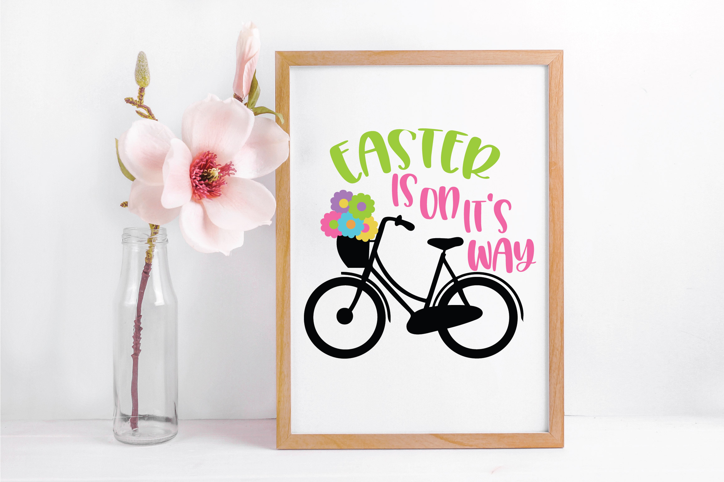 Easter SVG Cut File - Easter is on it's way SVG DXF EPS PNG example image 4