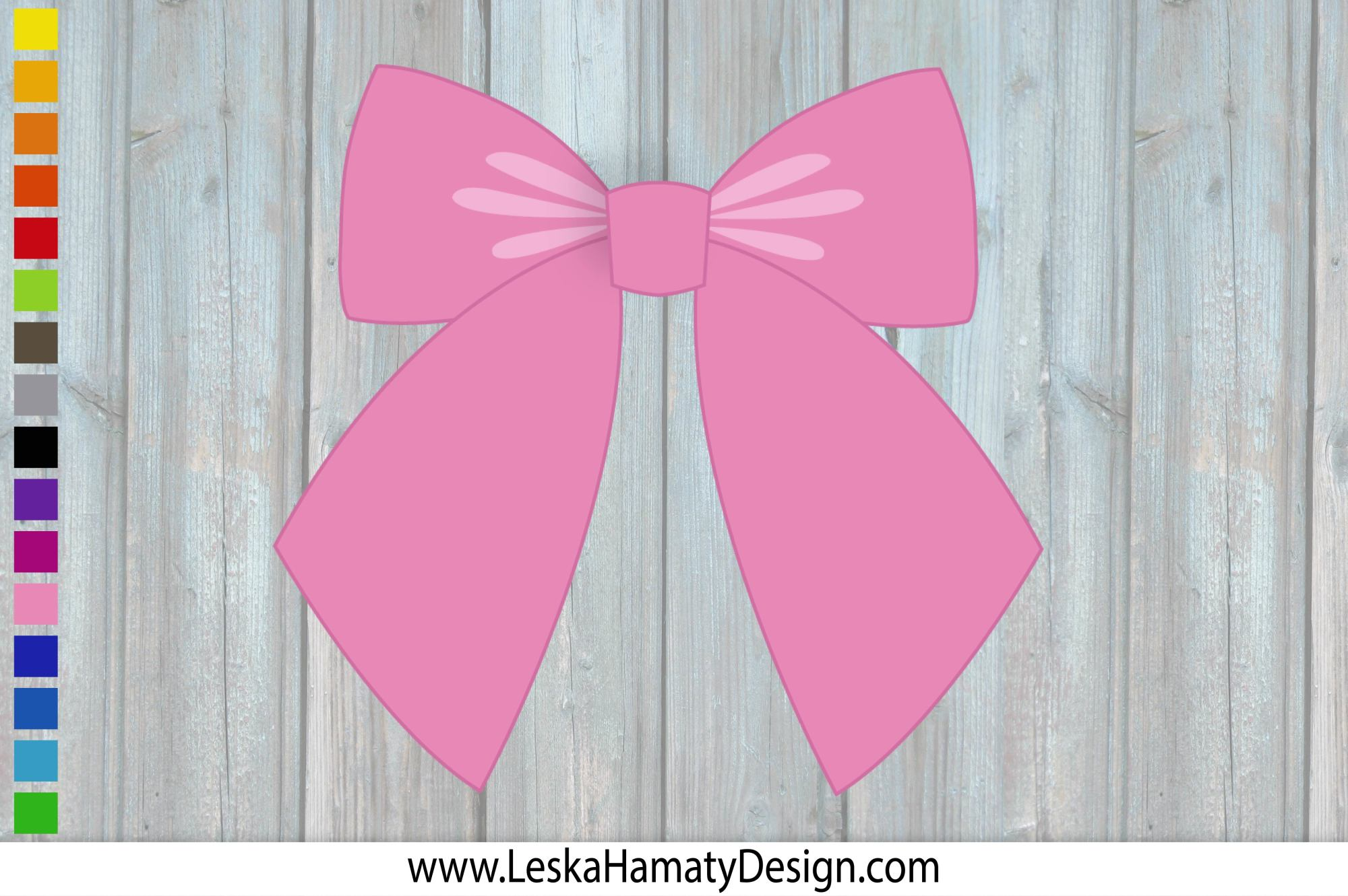 Bow Clipart Scrapbook Embellishment example image 2