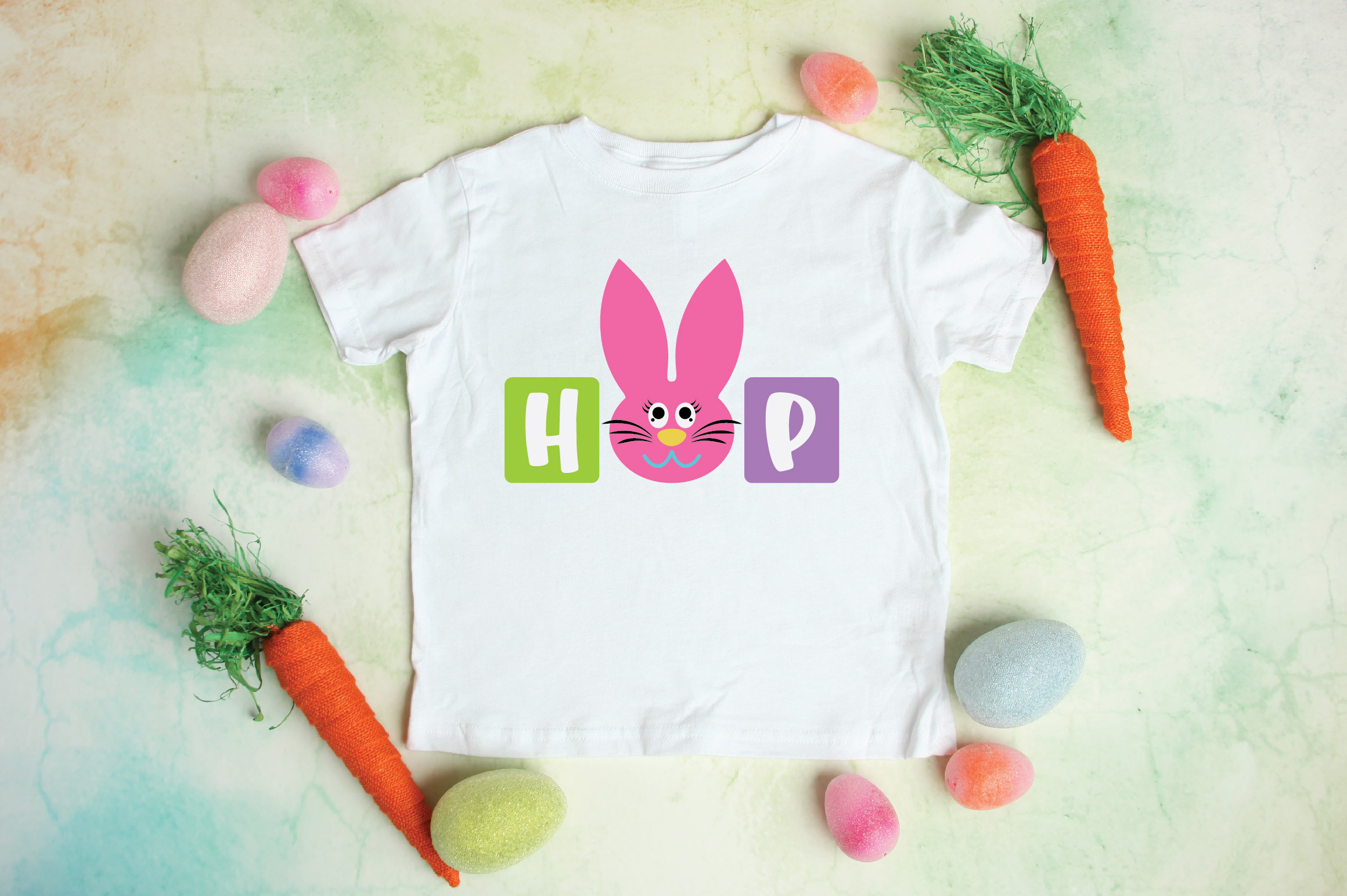 Easter SVG Cut File - Hop SVG DXF EPS PNG AI example image 3