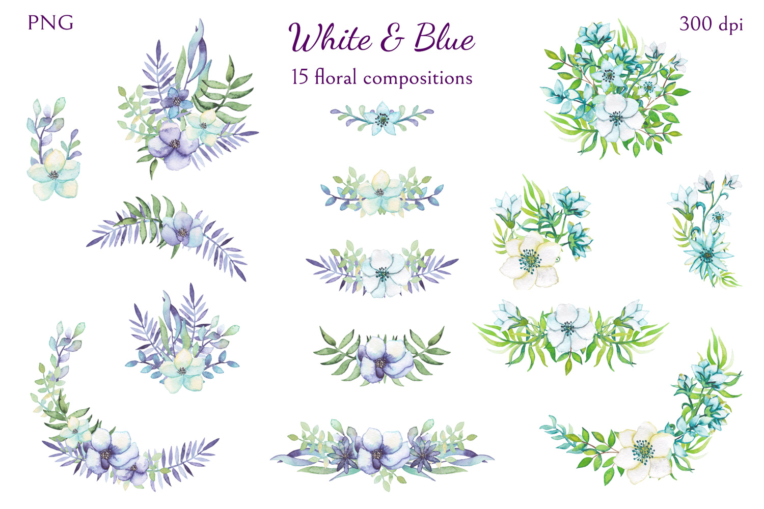 White and Blue example image 5