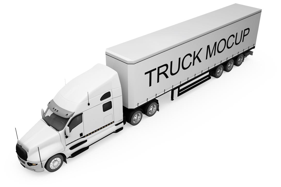 Truck Mockup example image 15
