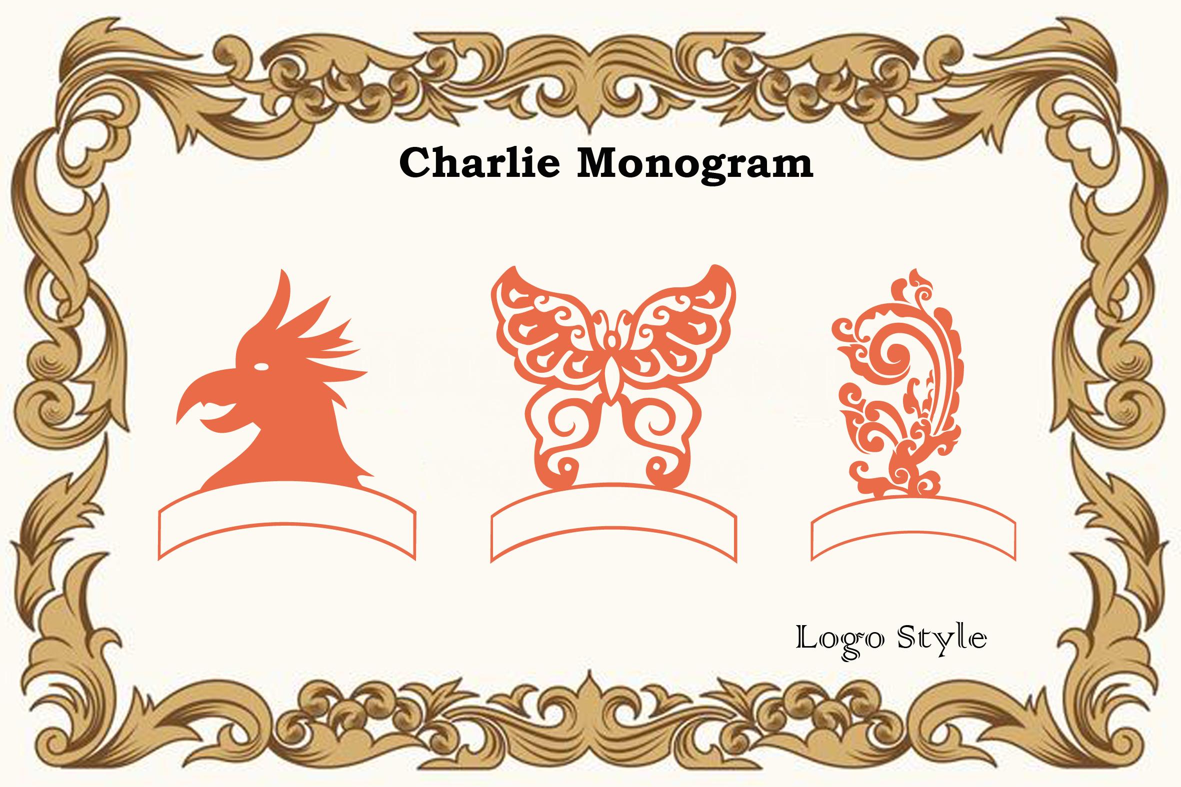 Charlie Monogram example image 9