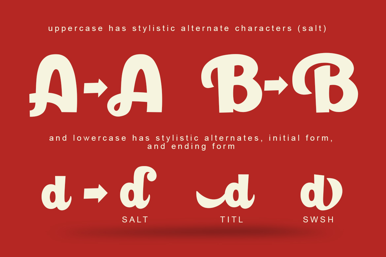 Paladise Font & Extras example image 3