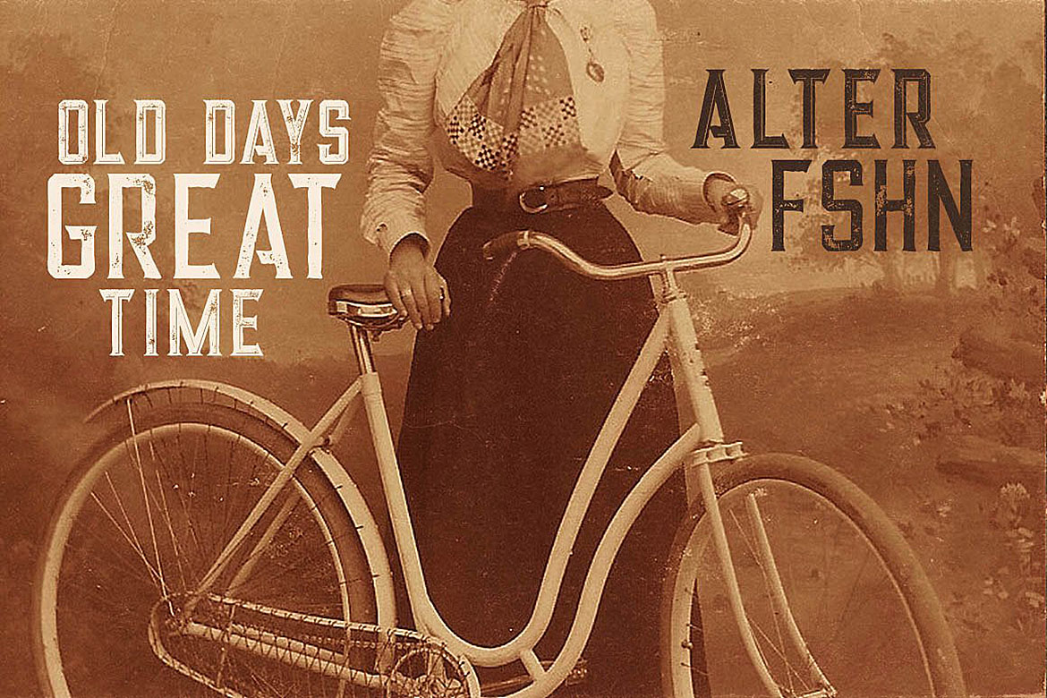 Alter - Vintage Style Font example image 4