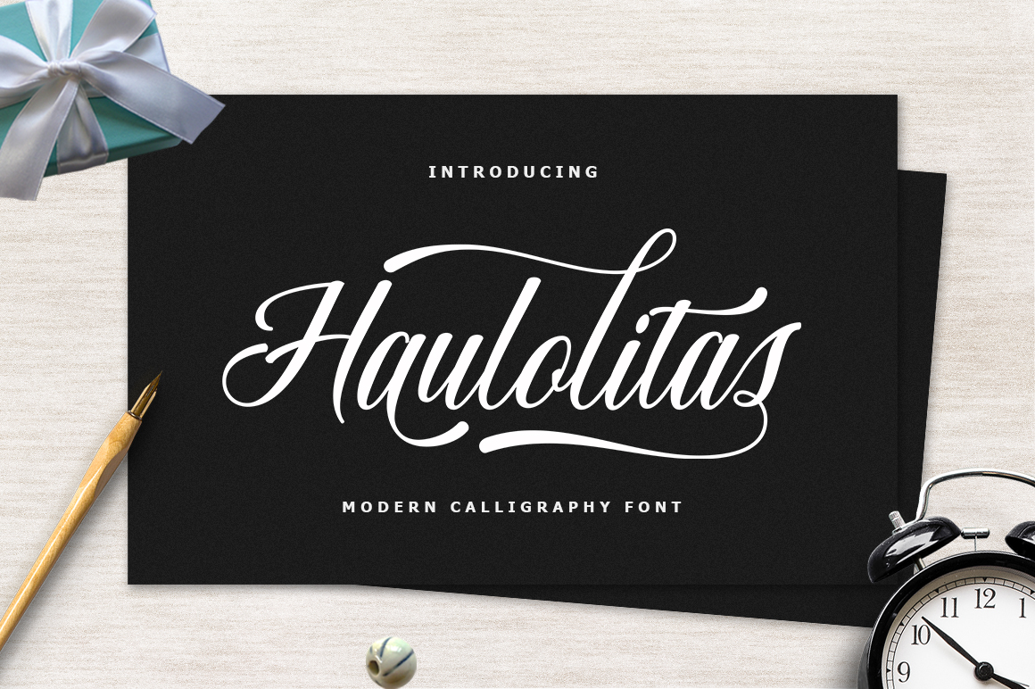 14 IN 1 FONT BUNDLE example image 4