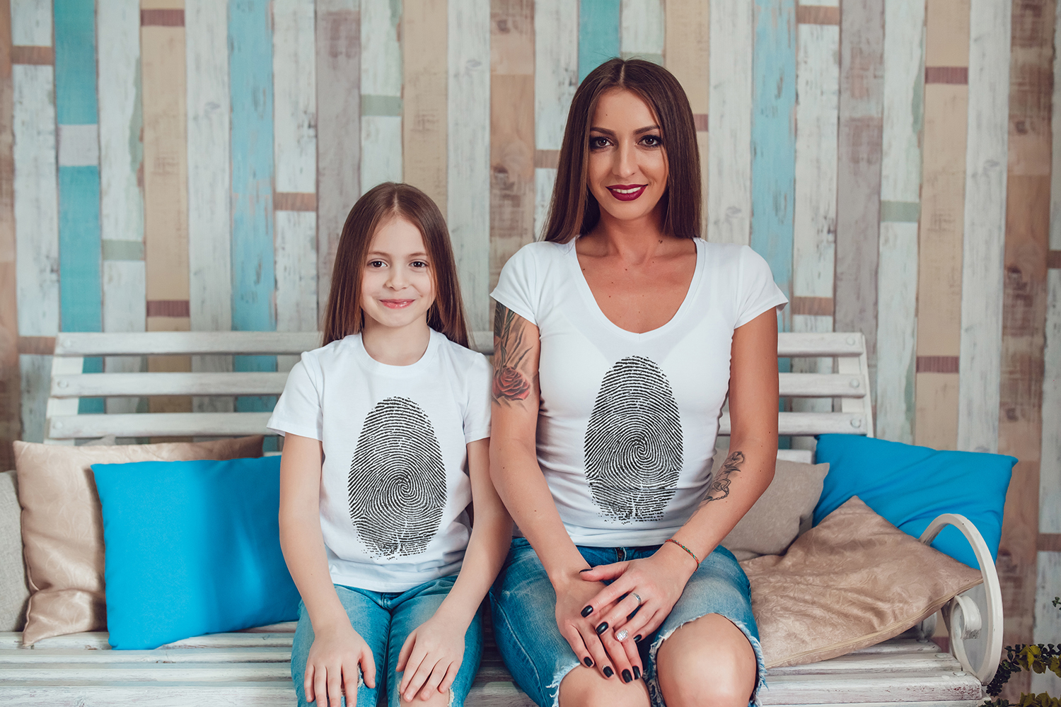 Family T-Shirt Mock-Up Vol.1 2017 example image 5