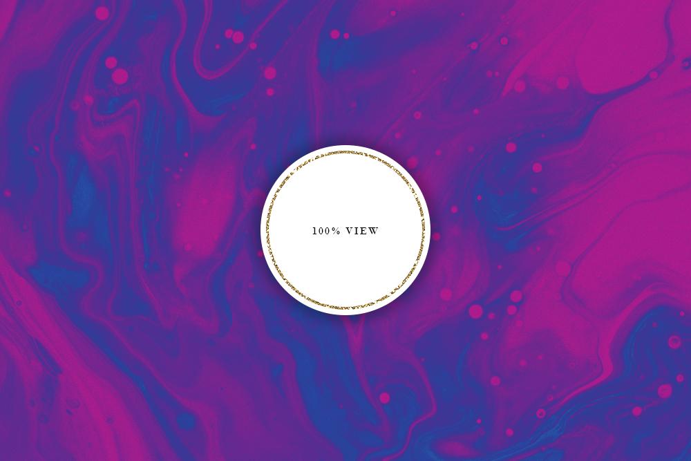 Dark Ink Liquid - Deep Blue, Red & Purple Paint Textures example image 4