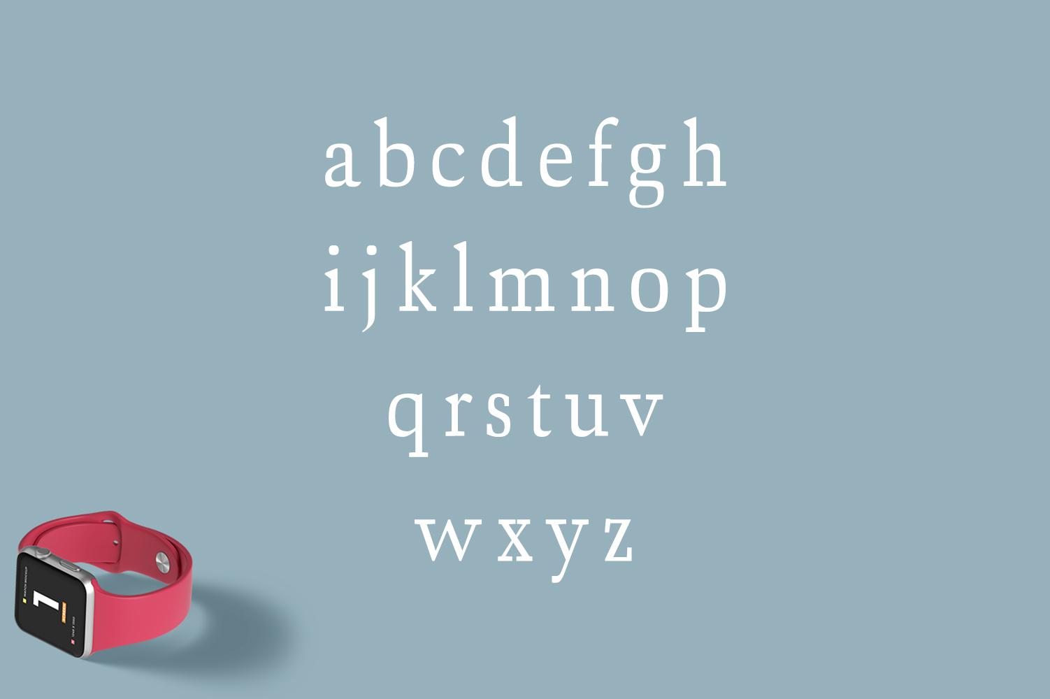 Ailish Slab Serif 3 Font Family example image 3