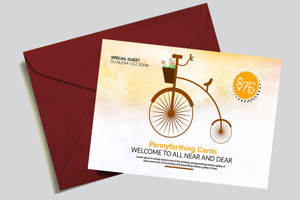 Invitation Card Template example image 2