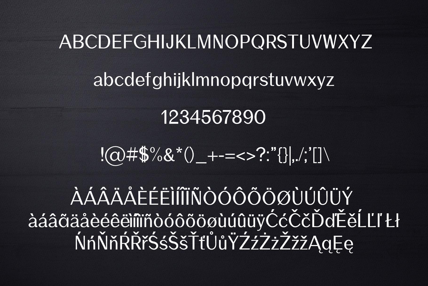 Rockley Sans Serif Font Family example image 2