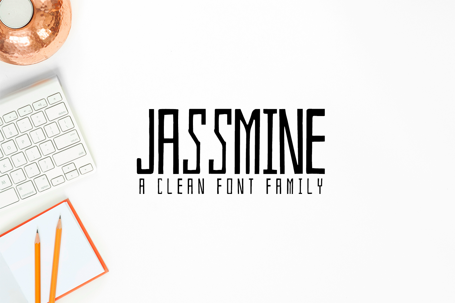 Jassmine Hand Written Typeface example image 1