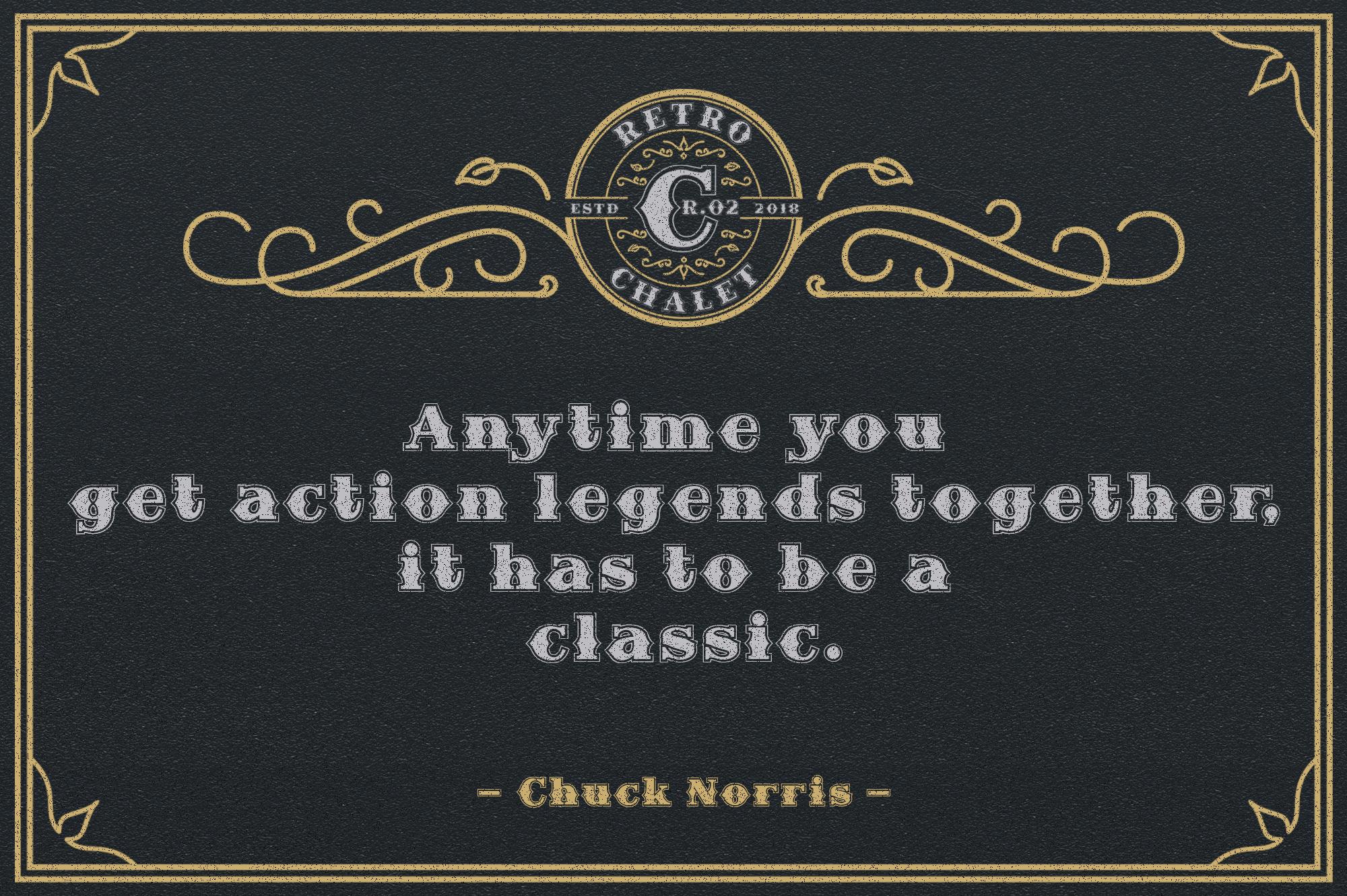Retro Chalet .02 example image 6