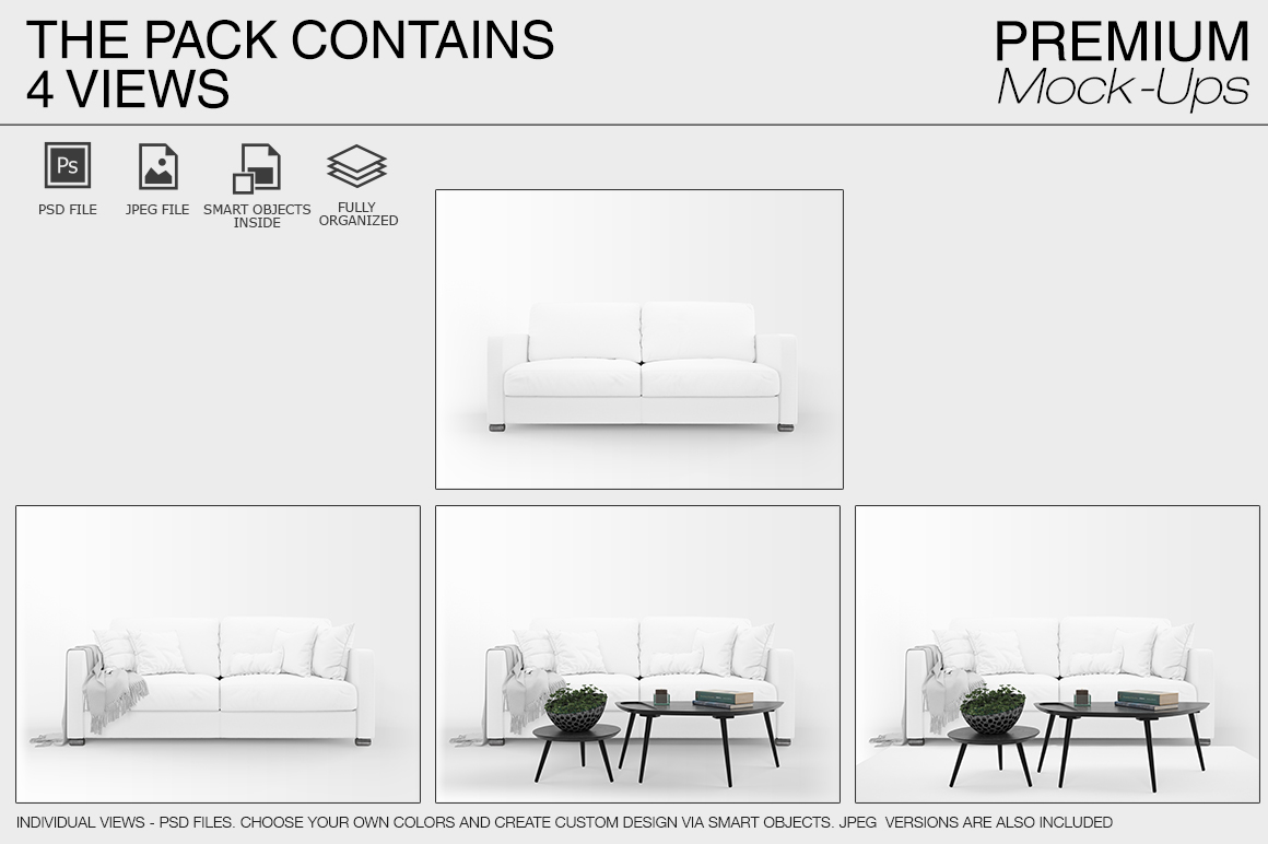 Sofa & Pillows Pack example image 10