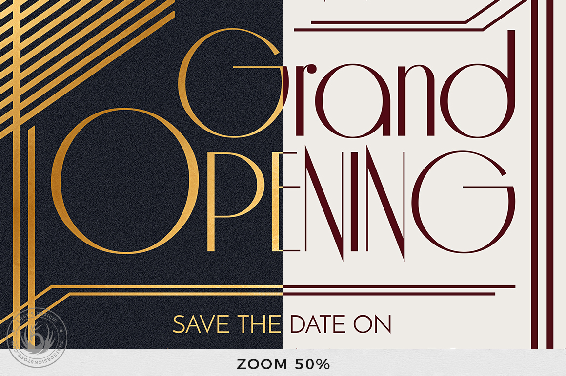 Grand Opening Flyer Template V2 example image 7