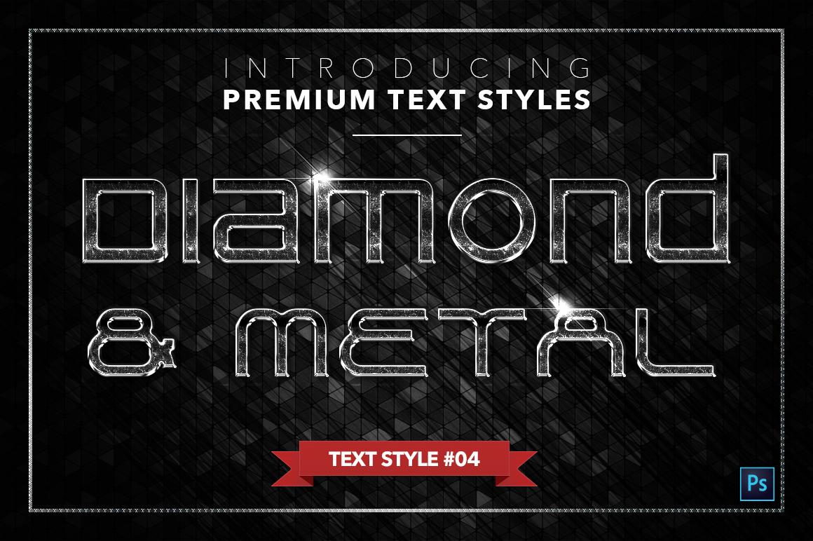 Diamond & Metal #3 - 18 Text Styles example image 5