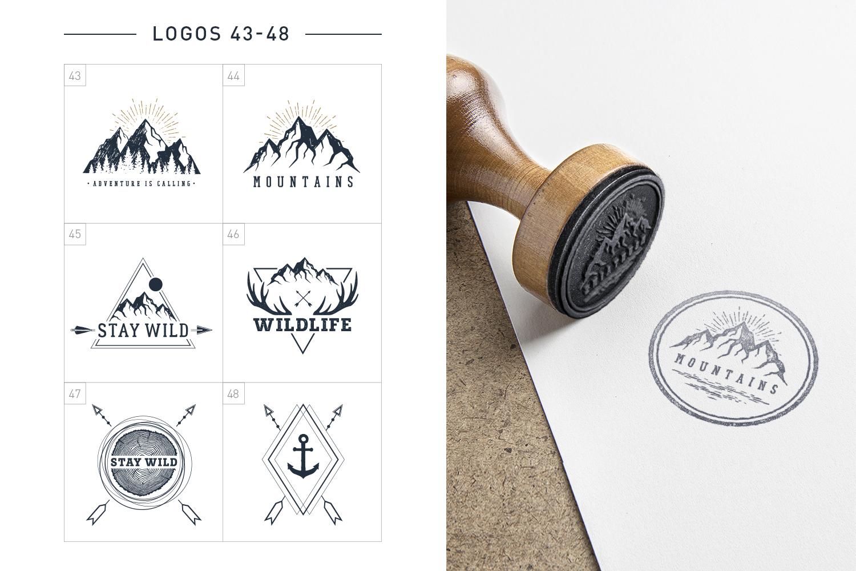 Nordicus. 60 Creative Logos example image 13