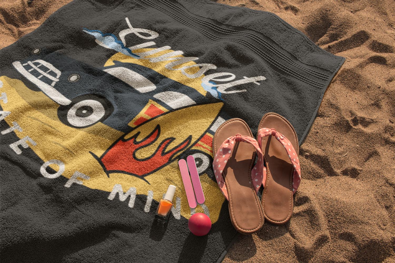 Retro Surfing Print Design, T-Shirt. Surf Car SVG File example image 4