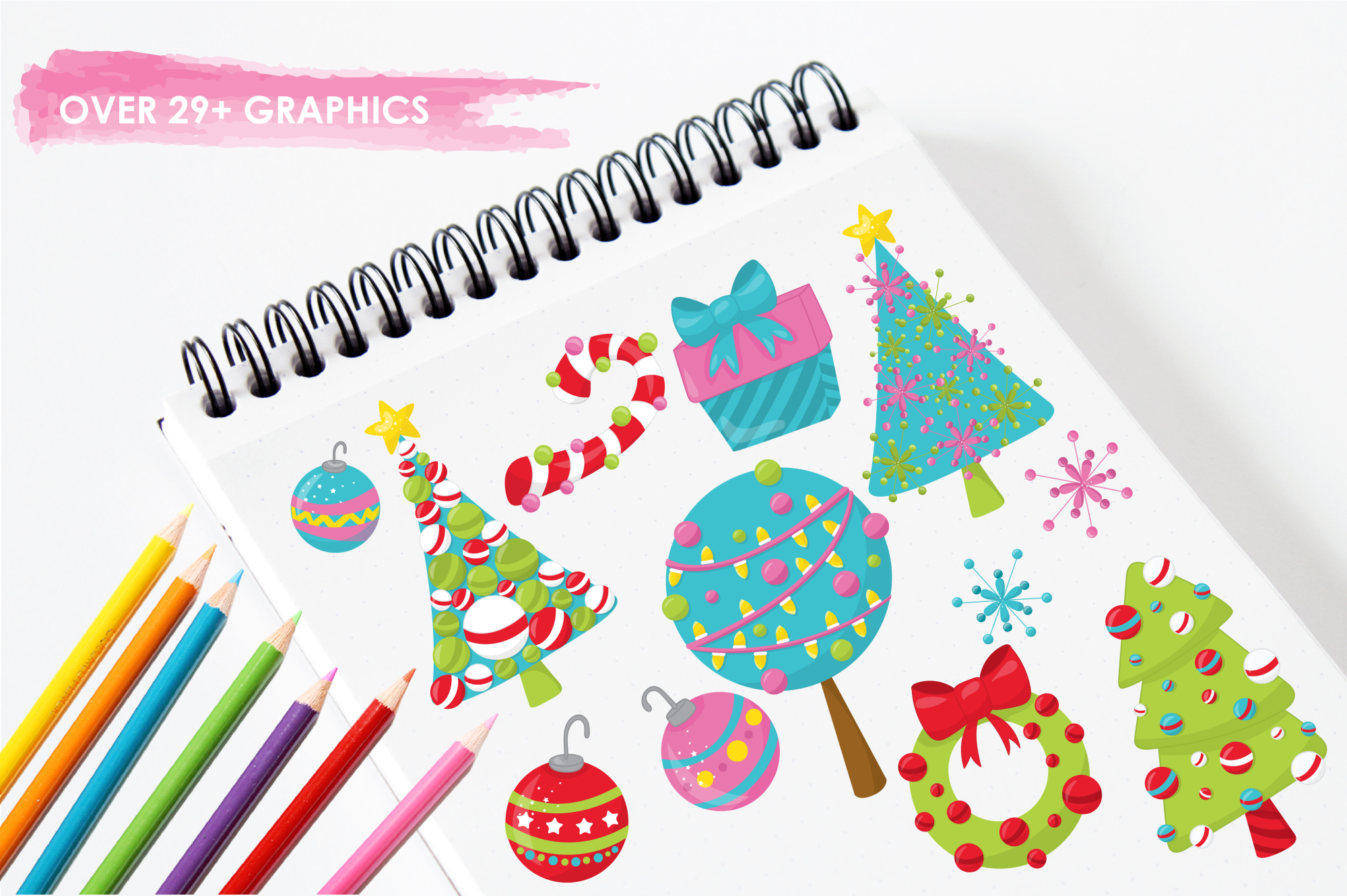 Christmas Décor graphics and illustrations example image 3