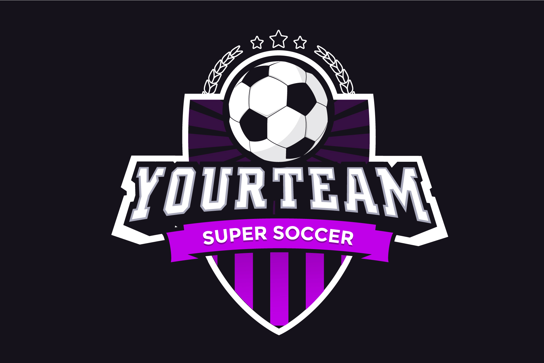 Logo Creator Soccer example image 5