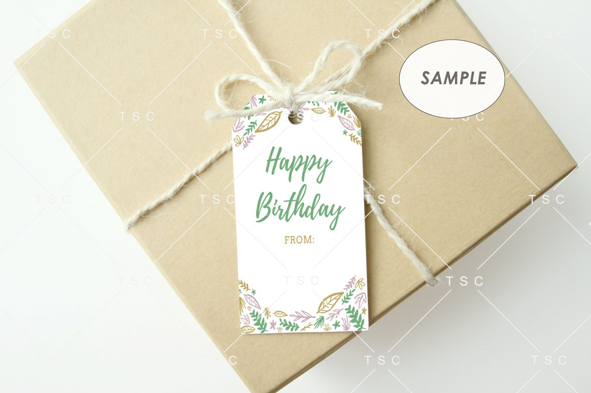Tag Mockup / Gift Tag / Thank You Tag / Product Tag example image 2