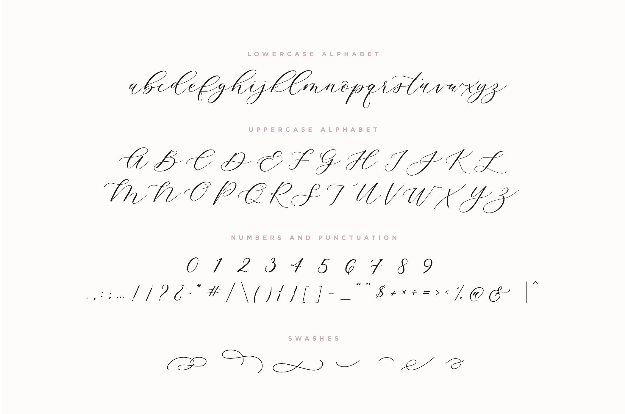 Adore Calligraphy Font example image 5