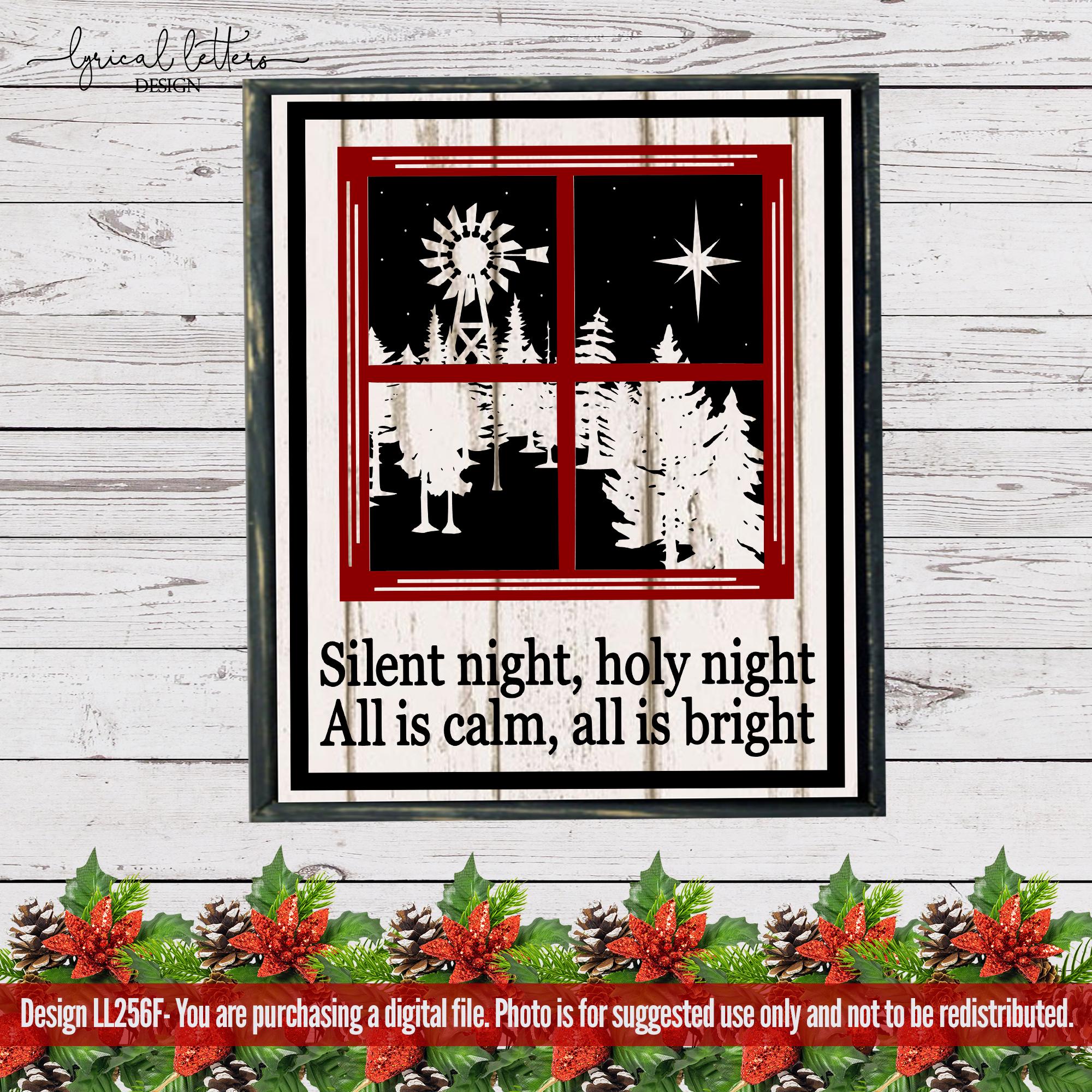 Farmhouse Christmas Bundle of 18 SVG Designs example image 10