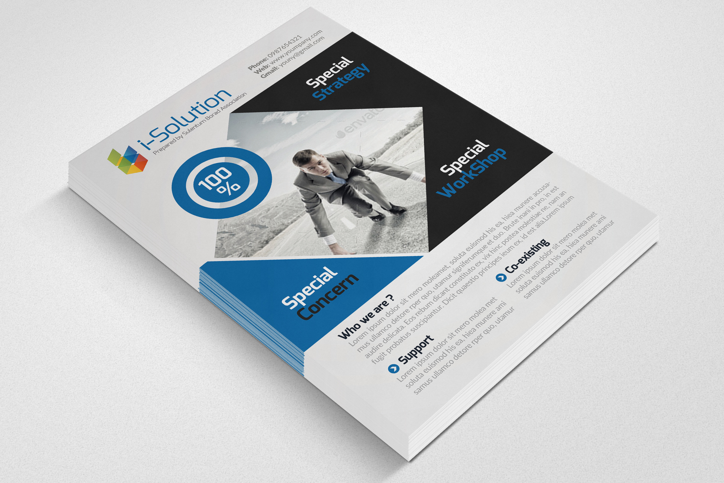 Creative Business Flyers example image 3