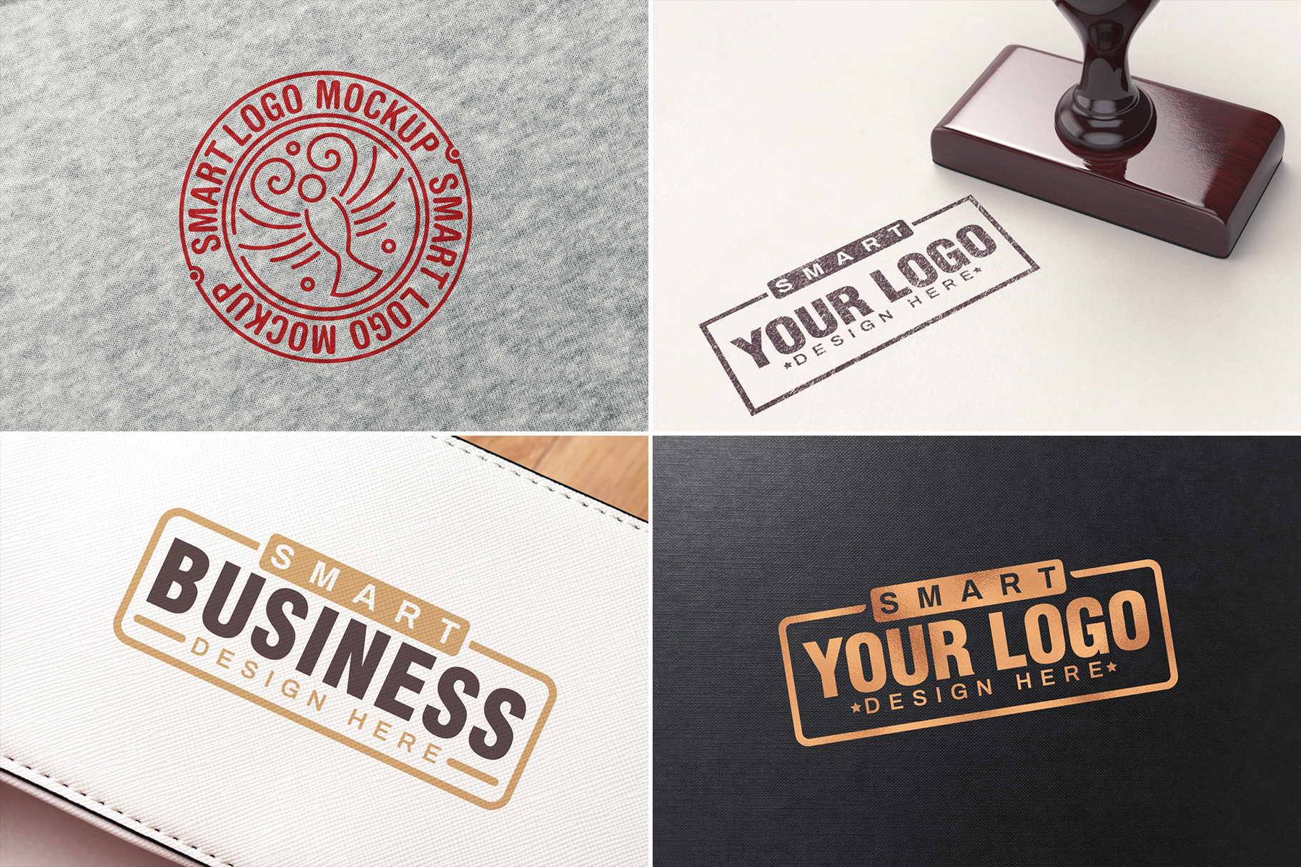 100 Logo Mockups Bundle Vol.1 example image 24