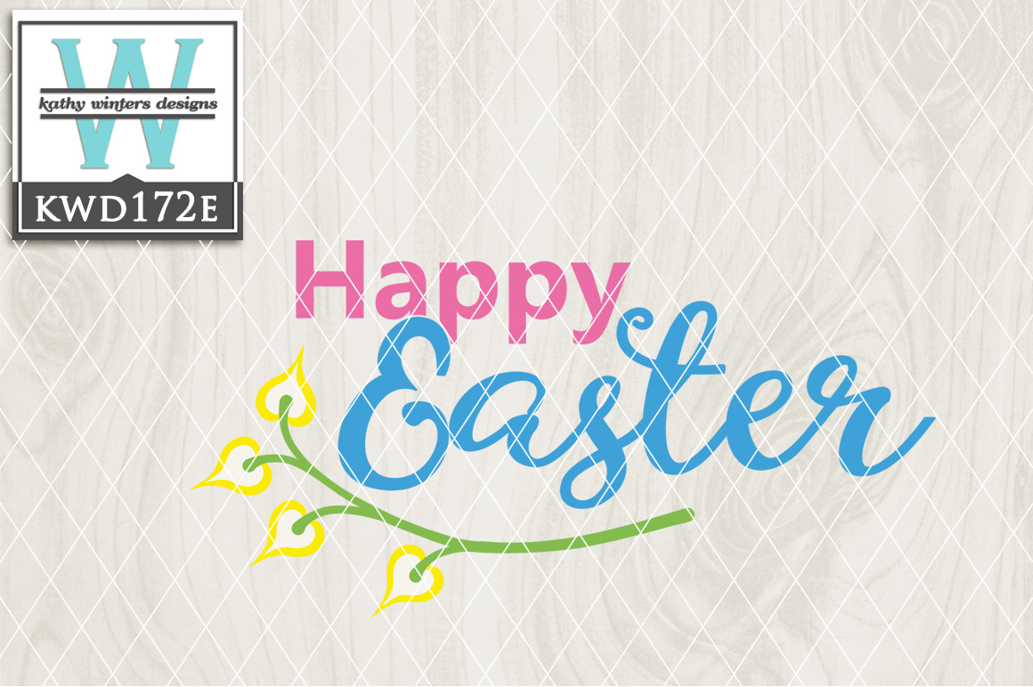 Easter Cutting File KWD172E example image 1