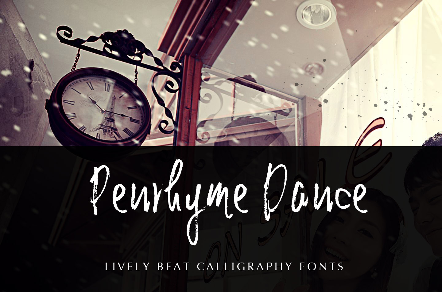 Penrhyme Calligraphy Font example image 3