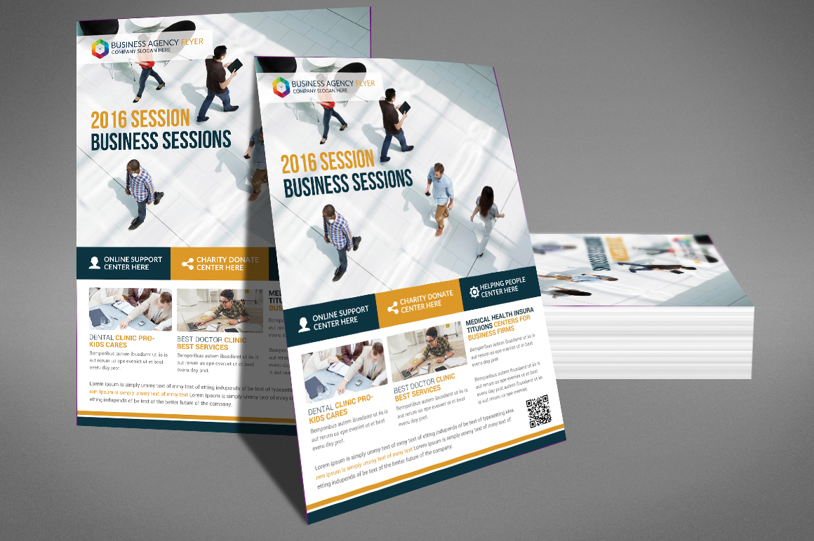 Business Agency Flyer Template example image 3