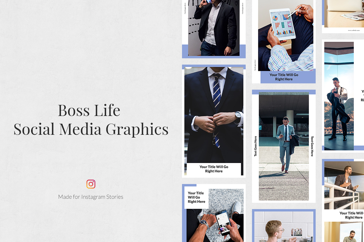 Boss Life Instagram Stories example image 1