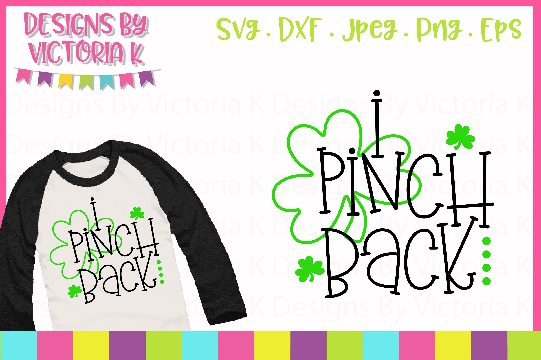 I Pinch Back SVG Cut File example image 1