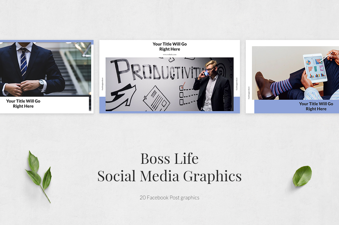 Boss Life Facebook Posts example image 2
