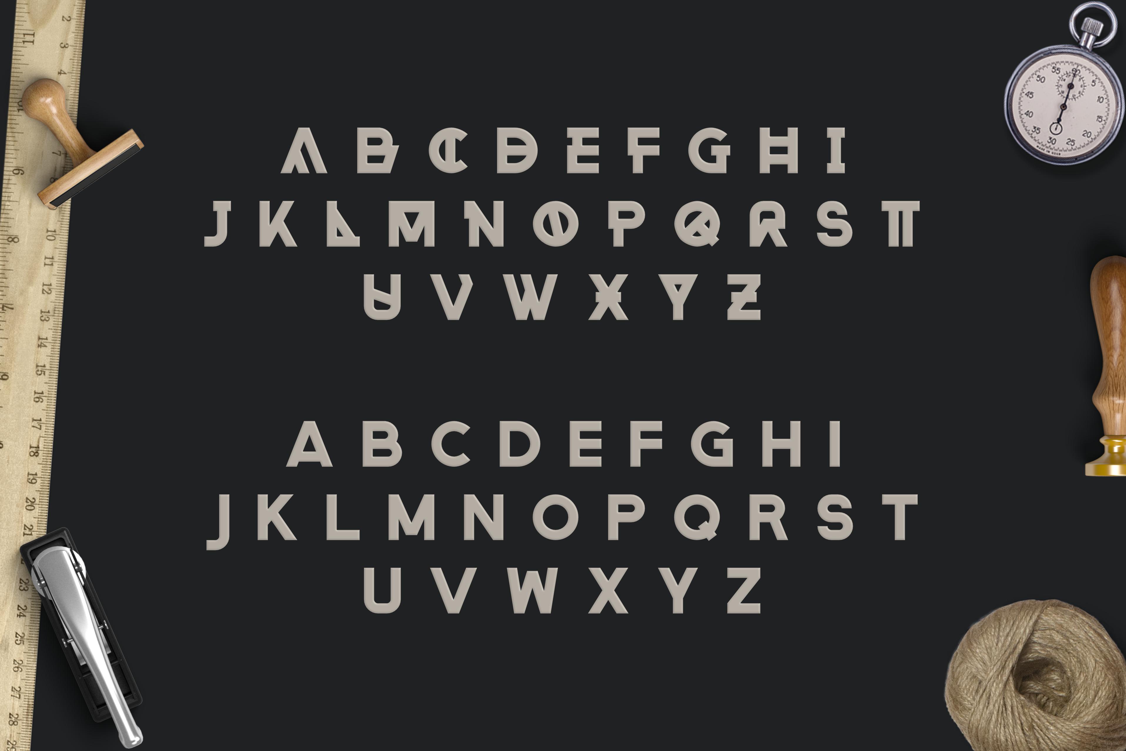 Rehab - The Display Sans Serif Font example image 6