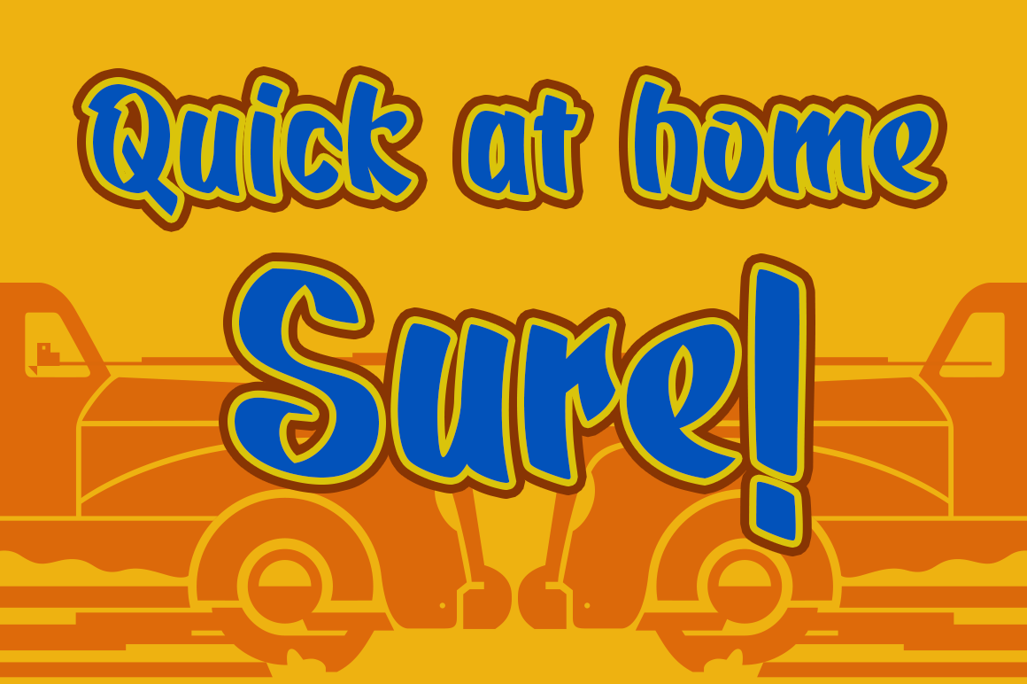Quickat Font example image 1