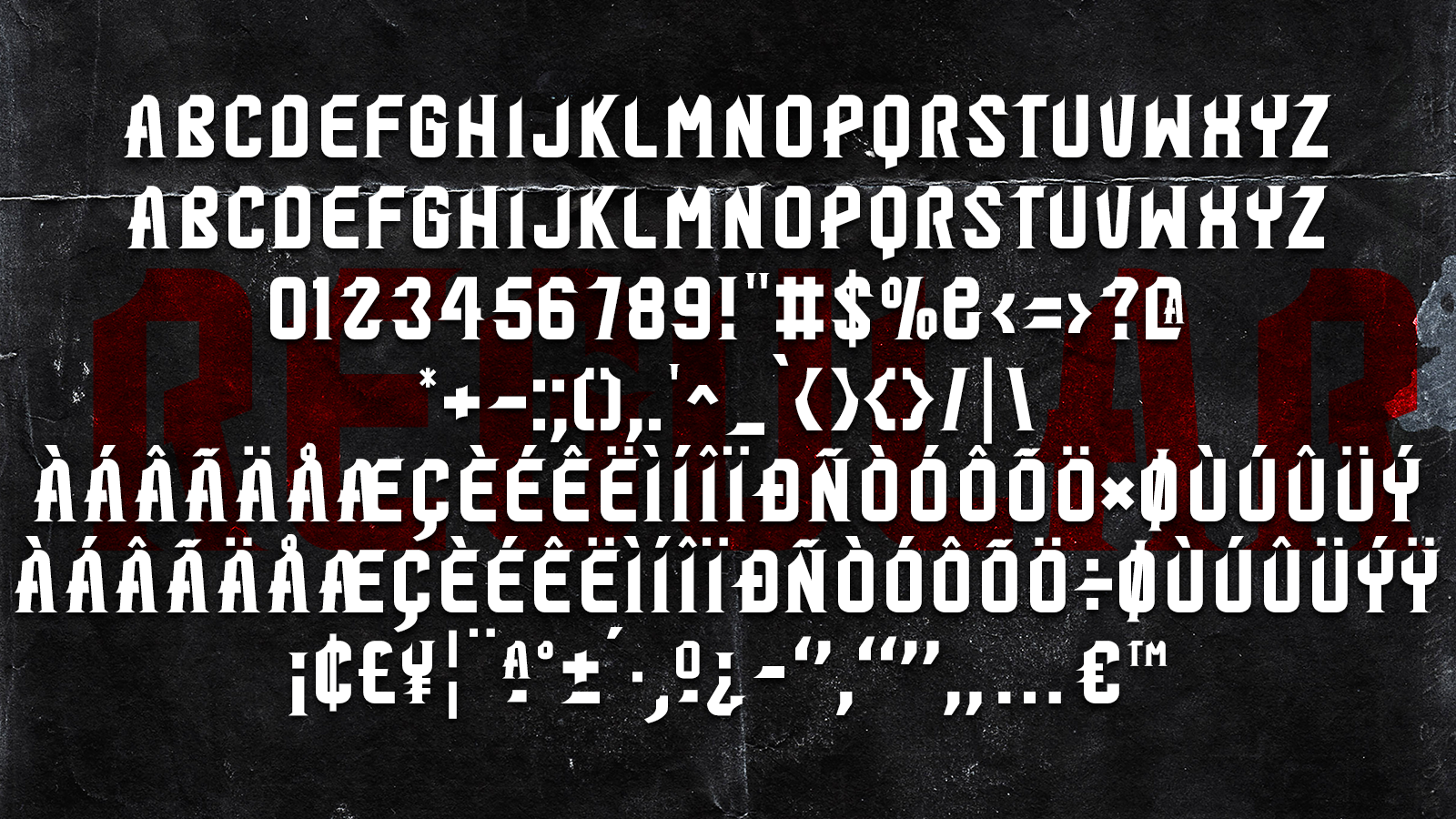 Hard C 2 FONTS example image 4