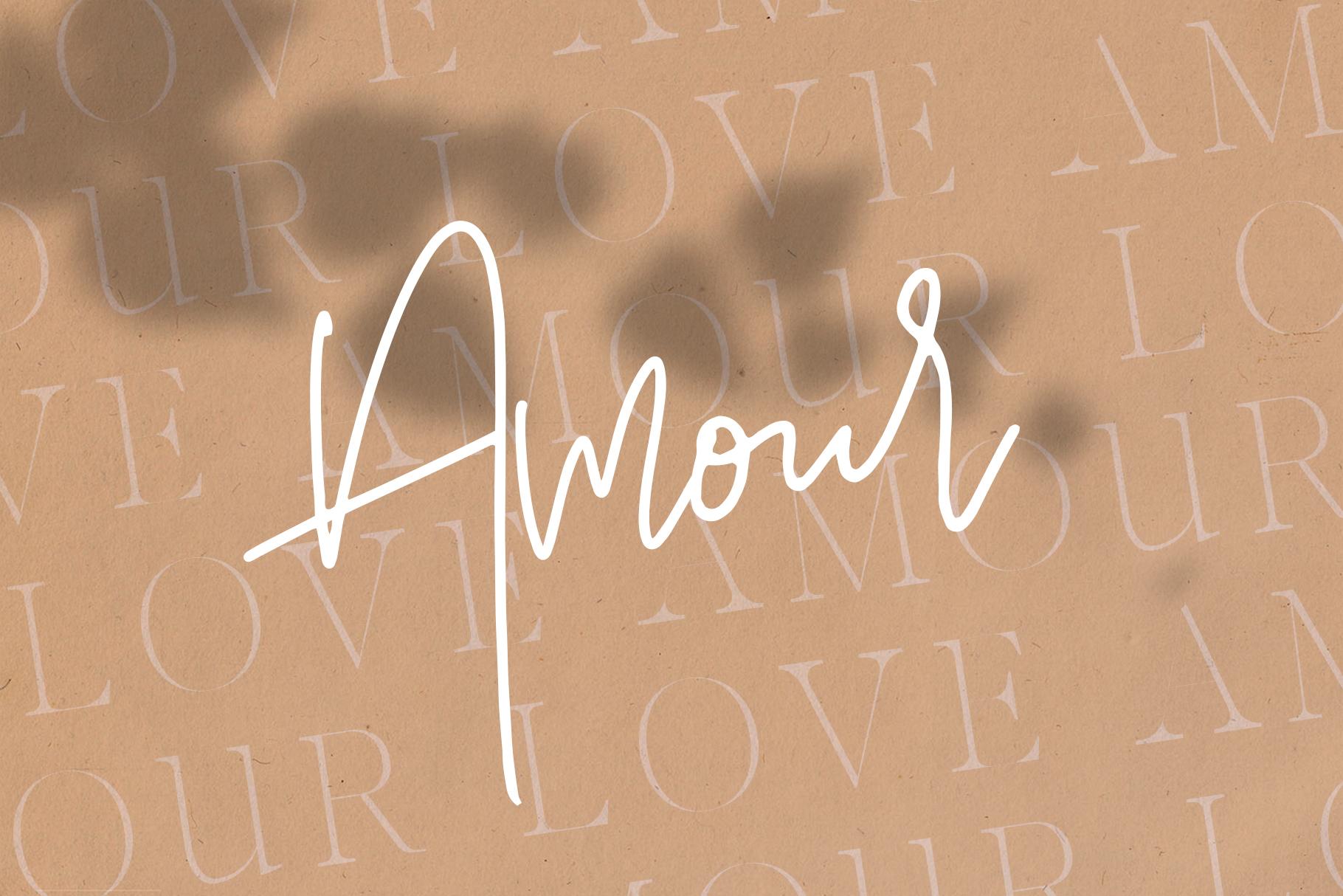 Marseille & Amsterdam - Modern Serif & Signature Font Duo example image 9