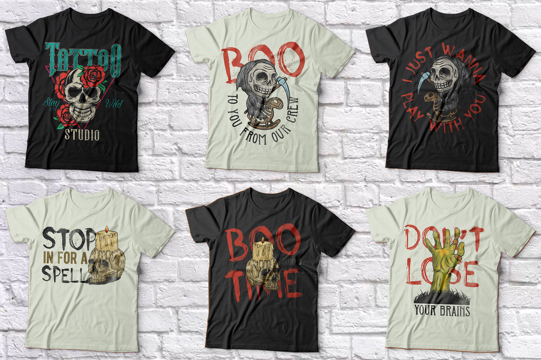 102 ready t-shirt designs BUNDLE example image 11