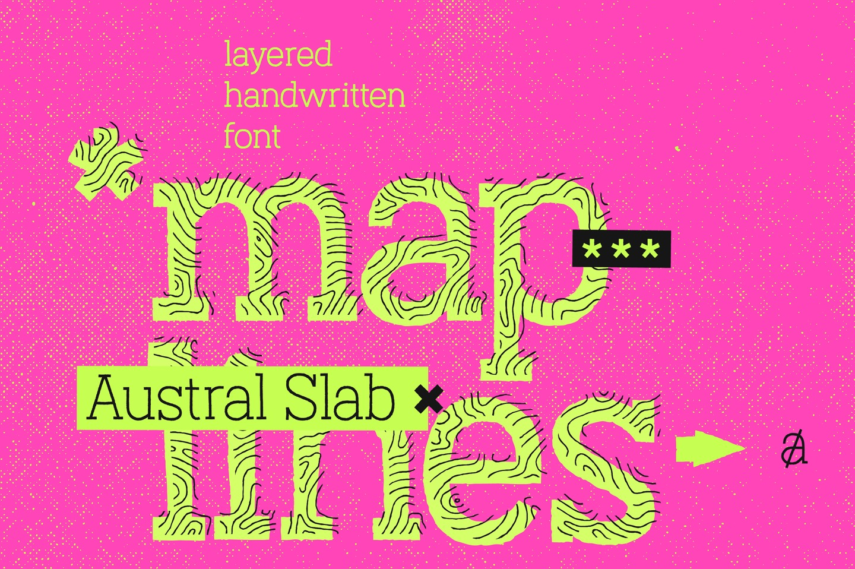 Austral Slab Maplines example image 1