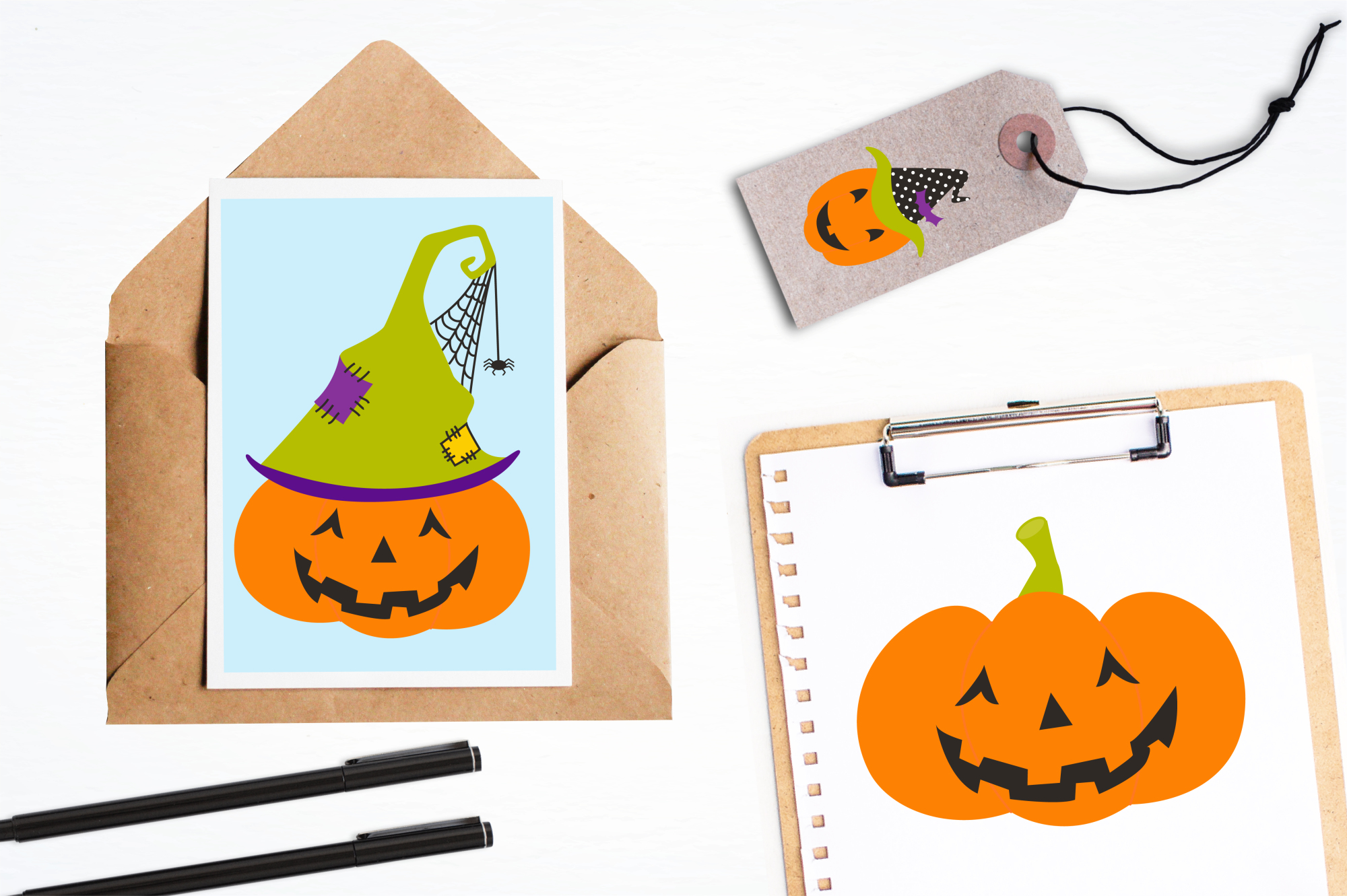 Jack O' Lanterns graphics and illustrations example image 4
