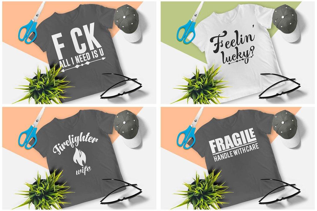 200 Printready Tshirt Design Mega Bundle example image 11